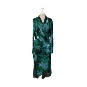 Adrianna Papell Free Spirit Wrap Dress Size XL